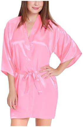 ARARA Pink Nighty with Robe