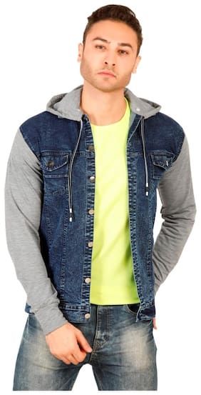 Arbia Funki Men Slim Fit Long Sleeves Denim Jacket (Assorted)
