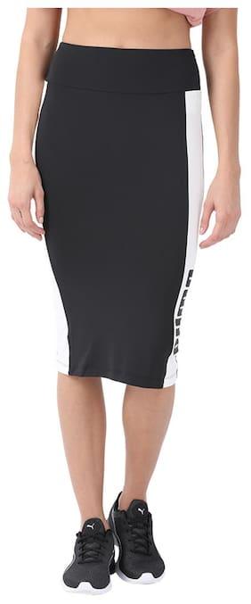 Archive Logo Pencil Skirt