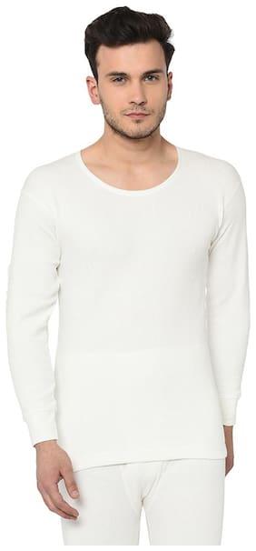 ARMISTO Men Cotton Thermal Top - White