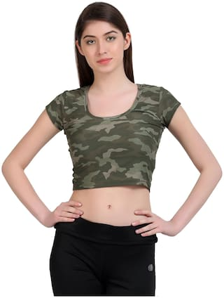FINESSE MIRACLE CAMI Women Cotton Camouflage - Blouson top Multi