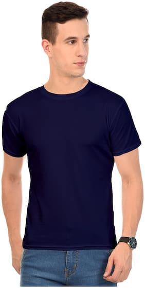 AROD Men Round neck Sports T-Shirt - Blue