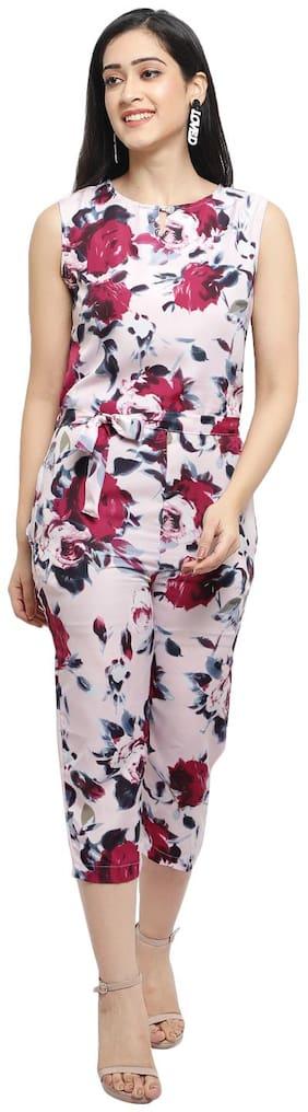 Arovi Floral Jumpsuit - Multi
