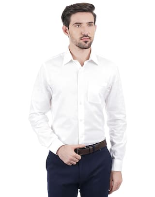 7fe4e97f7d4 Buy Arrow Men White Shirt Online at Low Prices in India - Paytmmall.com