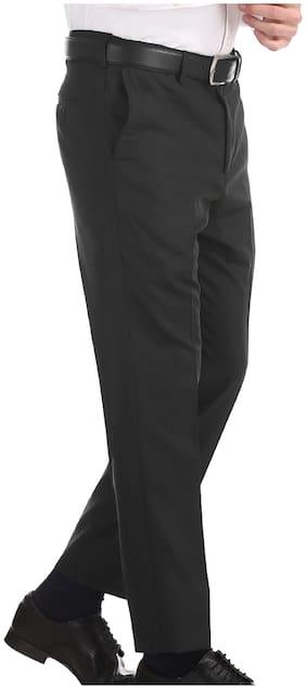 Men Tapered Fit Formal Trouser