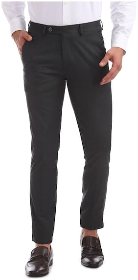 Men Skinny Fit Formal Trouser Pack Of 1