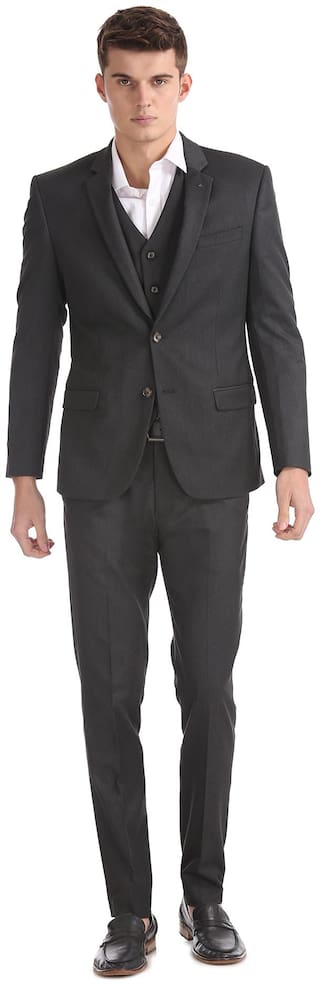 Arrow Newyork Slim Fit Three Piece Suit