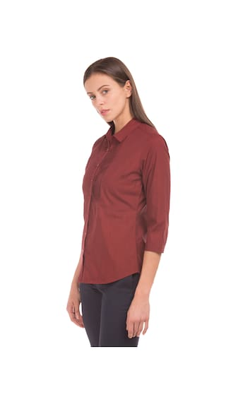 Shirt Tucked Long Bib Arrow Sleeve waqP8aUA