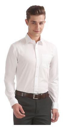 Arrow Men Slim Fit Formal Shirt - White