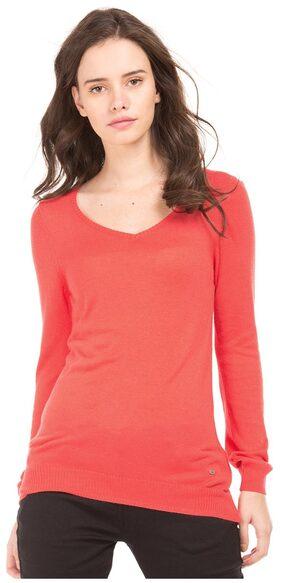 Arrow Woman Red Women Regular Sweaters & Pullovers