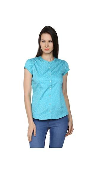 Arrow Womenswear Women Shirt Blue