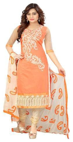 ARSH IMPEX Cotton Salwar - Orange