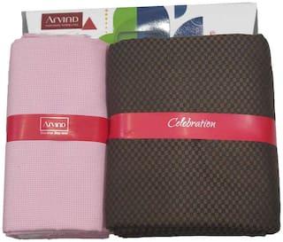 Arvind Men Viscose blend Checked Suiting - Multi