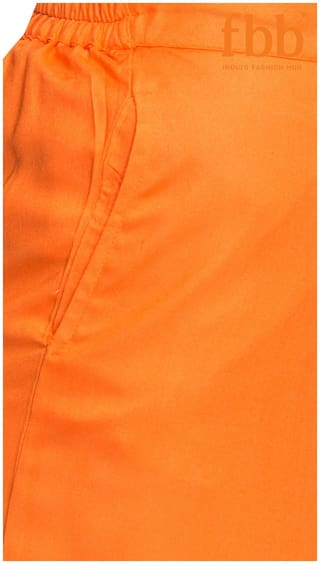 Formal Ateesa Palazzos Dark Orange Solid z11A0x