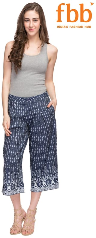 with Rise Pockets Culottes Printed Mid Ateesa wFSq5OaIF