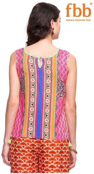 Pink Top s Ateesa Printed Women xaUxItx