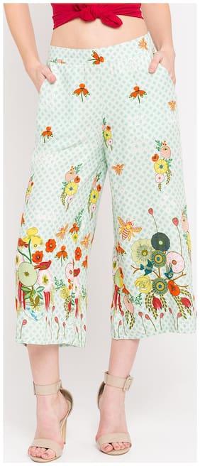 Women Printed Cullotes