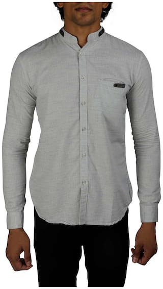 ATM Men Regular fit Casual shirt - Grey