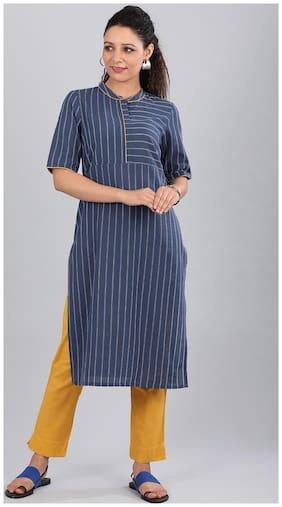 Women Dyed Straight Kurta