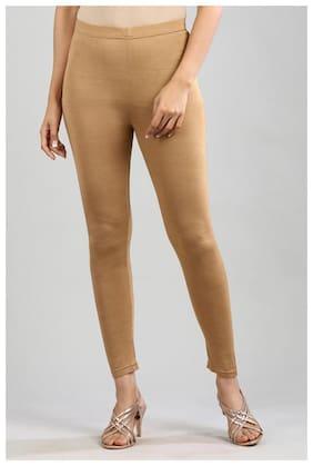 Viscose Solid Leggings