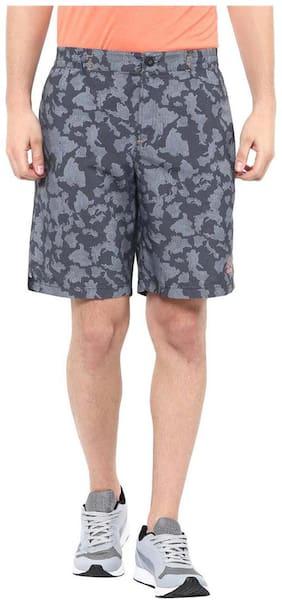 Aurro Sports Charcoal Aurro Camo Shorts