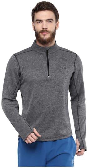 Aurro Sports Grey Lt Wt Sweatshirt (size:- Xl)