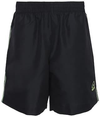 Aurro Sports Men Black Casual Short
