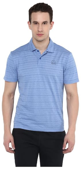 Aurro Sports  Royal Base Polo T-Shirt