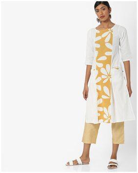 AVAASA By Reliance Trends Women White Kurta