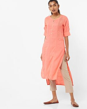 AVAASA By Reliance Trends Pink Kurta