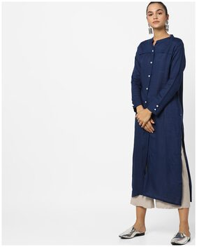 AVAASA By Reliance Trends Women Blue Kurta