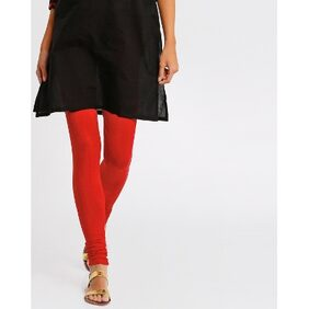 AVAASA By Reliance Trends Women Red Cotton Churidar