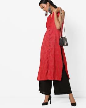 AVAASA MIX N' MATCH By Reliance Trends Women Red Kurta