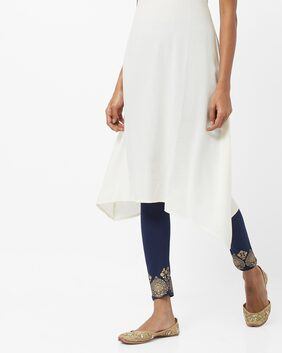 AVAASA MIX N' MATCH By Reliance Trends Blue Leggings