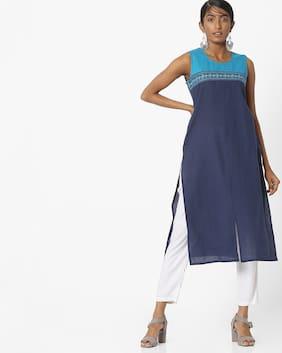 AVAASA MIX N' MATCH By Reliance Trends Women Blue Kurta