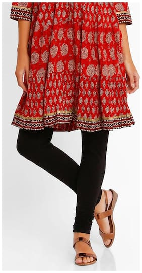 AVAASA MIX N' MATCH By Reliance Trends Blended Salwar - Red