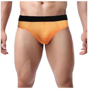 Avidlove Sexy Mens Buttocks Hollow-Out Thong Elastic Smooth Bikini Underwear G-string