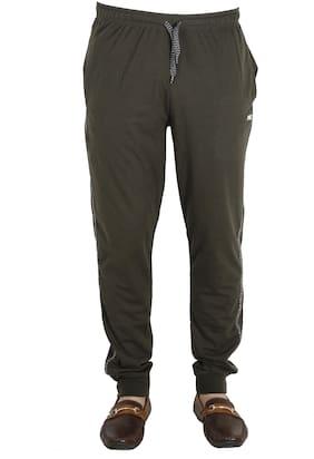 AVR Men Cotton Track Pants - Brown