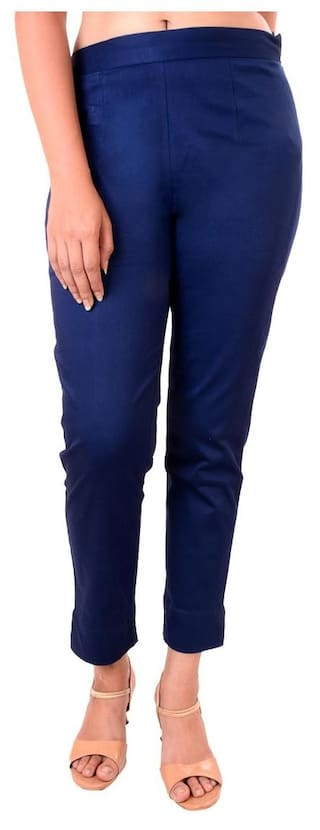 Women's Navy Lycra Pant Blue Awesome SgXqAPHx