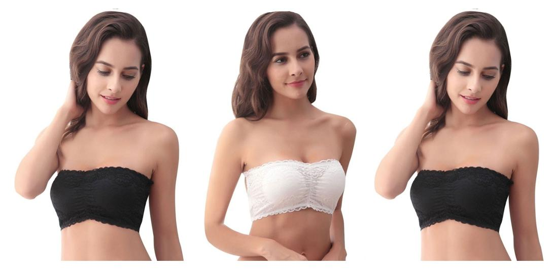 a0436d349b https   assetscdn1.paytm.com images catalog product . Bahucharaji Creation  Black   White Colour Sexy Padded Lace Boob Tube Top(pack ...
