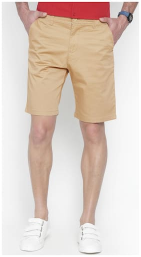 Balista Men Brown Regular Fit Regular Shorts