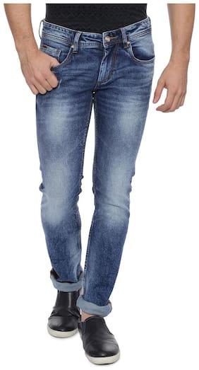 Men Regular Fit High Rise Jeans Pack Of 1