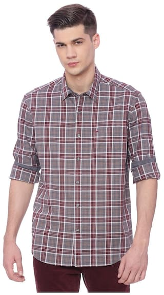 BASICS Men Slim Fit Casual shirt - Multi