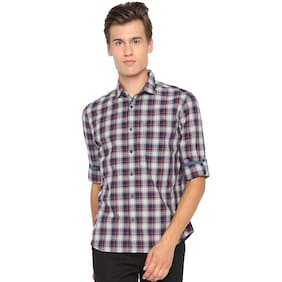 BASICS Men Slim Fit Casual shirt - Blue