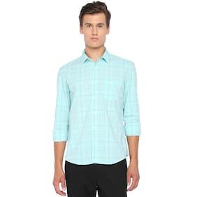 BASICS Men Slim Fit Casual shirt - Green
