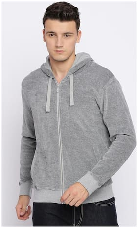 Men Solid Cotton Ethnic Jacket