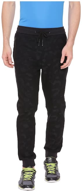 Regular Fit Polyester Blend Track Pants