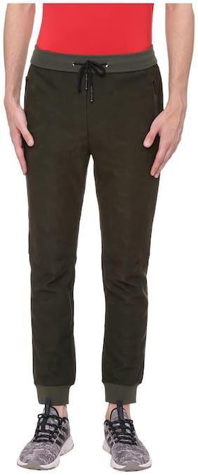 Regular Fit Polyester Blend Track Pants