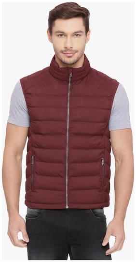 Men Solid Polyester Ethnic Jacket Pack Of 1