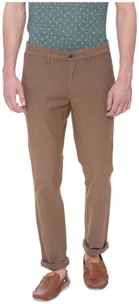 Basics Skinny Fit Antique Bronze Brown Stretch Trouser
